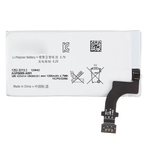 Li-Polymer Replacement Battery for Sony Xperia P LT22i Nypon OEM 1265mAh
