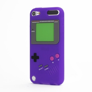 Retro Game Boy Silicone Case Cover for iPod Touch 6 / Touch 5 - Purple