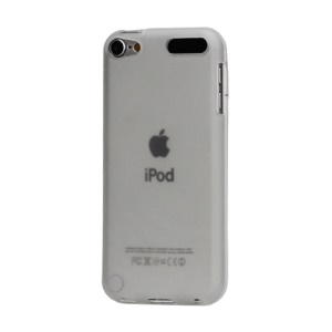 Matte TPU Skin Case Accessories for iPod Touch 6 / Touch 5 - Transparent