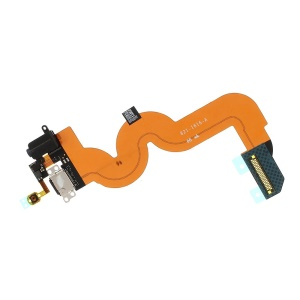 OEM Dock Connector Charging Port with Flex Cable for iPod Touch 5 - Black