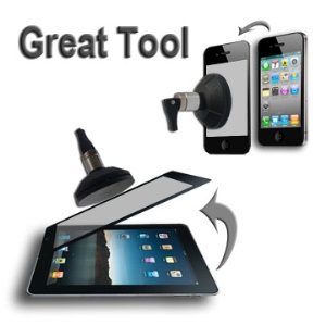 For iPad iPhone iPod Screen Removal Vacuum Suction Cup Repair Tool - Pump It Up