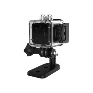 Mini Sports DV 1080P HD Action Camera Camcorder - Black