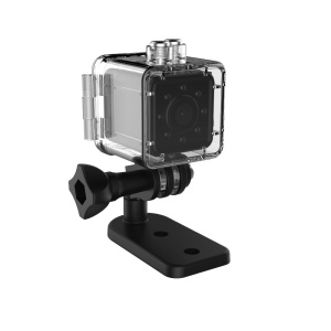 Waterproof Mini Sports DV 1080P HD Action Camera Camcorder Support TF Card - Silver