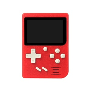 Mini Portable 2.4in LCD 8 Bit Video Console Built-in 129 Retro Games - Red