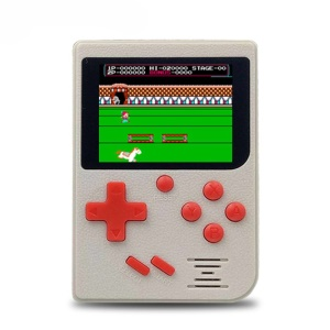Q6 2.4 inch Handheld Game Console 800mAh Battery Built-in 129 Classic Games - White