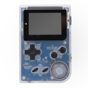 Retromini Game Console 32 Bit Portable Mini Handheld Game Players Built-in 36 Games - Transparent