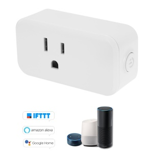 1PC Mini WiFi Smart Socket Bulgy On/Off Button US Plug with Timing Function
