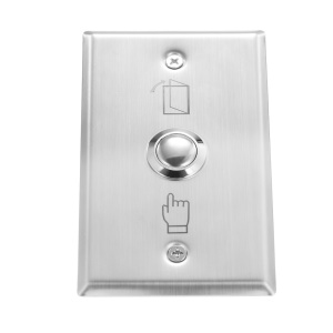 Stainless Steel Exit Button Switch Door Switch Button