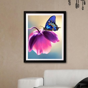 Luxury Diamond Painting Of Butterfly Shiny And Original - Style 1