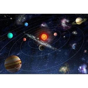 12 x 16 inches Outer Space Universe Resin Rhinestone Mosaic Embroidery Cross Stitch Craft Home Wall Decor