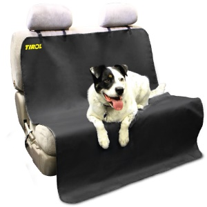 Waterproof Tirol Pet/Cat/Dog Car Back Seat Cover Mat Bench Protector with Belts