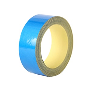 PVC Reflective Waterproof Car Vehicle Safety Warning Tape Sheeting Sticker - Blue / Size: 5000x10mm