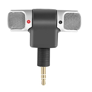 Mini Digital Stereo Microphone Mic 3.5mm Jack PC Laptop Notebook Microphone