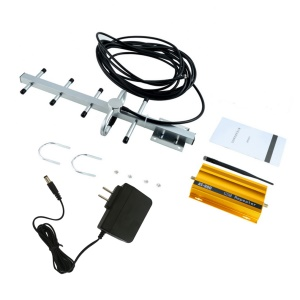 AT980 GSM 900 Mhz Handy Signal Booster Repeater Verstärker + Yagi Antenne - US-Stecker