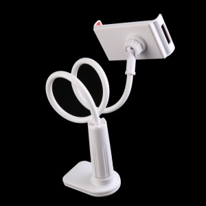 New Universal Lazy Bracket Holder for iPad Mobile Phone Tablet Computer - White