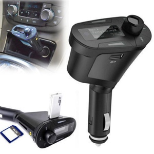 Car MP3 Player Wireless Music FM Transmitter Modulator USB & Remote Control