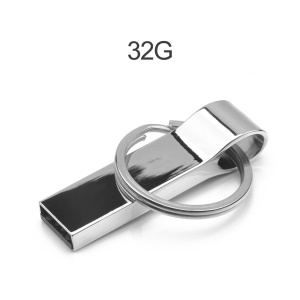 Llavero Unidad Flash USB USB2.0 Pen Drive 32G Memoria Flash Metal U-disco