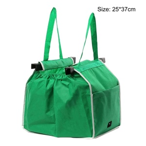 Large Capacity Green Non-woven Fabric Shopping Bag Foldable Reusable Bag