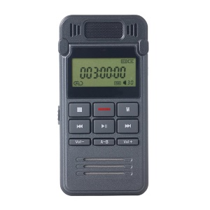 SK-999 8GB Portable Metal Digital Audio Voice Recorder Mini HD MP3 Player