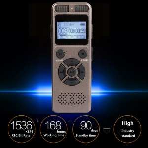 Portable Mini Digital Recording 8GB Business Voice Recorder with Microphone