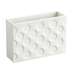 Magnet Storage Box Organizer Rack Shelf Refrigerator Magnet Holder Container - White