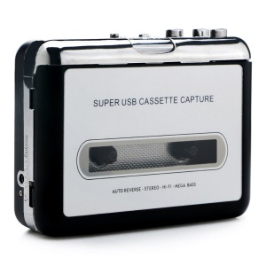 Portable Tape Cassette Convert MP3 Player Converter Audio Capture Music Player