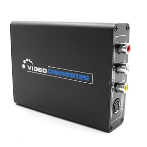 1080P Composite S-Video R/L Audio to HDMI Converter AV to HDMI With Adapter - AU Plug