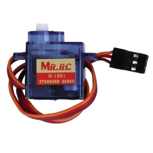 MR.RC M-1501 9g Digital Servo Motor Gear High Speed Torque for RC Helicopters Cars Airplanes