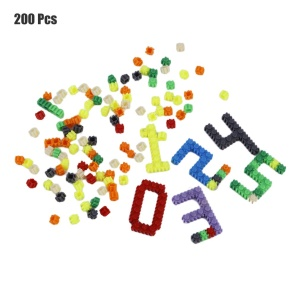 200 Pcs/Set Plastic Building Blocks Kids Toy New Puzzle Educational Learning Toys