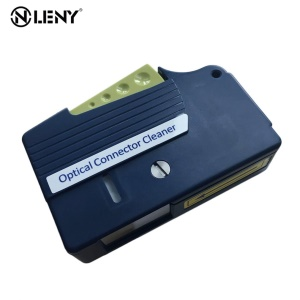 Portable Fiber Optic Connector Cleaner Fiber Optic Patch Cord Cleaver Splicer