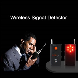 Wireless Signal Detector CC308 + Multi-Function Camera Bug GSM WiFi GPS Laser - EU Plug