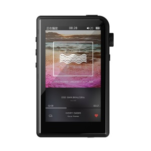 SHANLING M2s 3-inch Screen Portable Sport Bluetooth Mini Convenient Lossless Music Player - Black