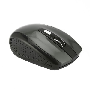 WH315 Optical Gaming Mouse Mice Portable 2.4GHz Wireless Mouse for Laptop Computer - Grey