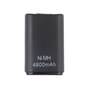 4800mAH Rechargeable Battery Pack for Xbox 360 Wireless Controller - Black