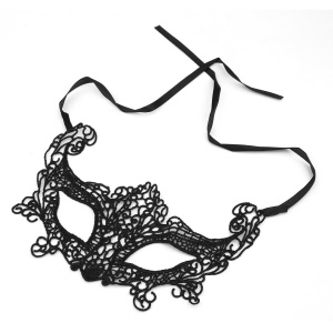 KD-05 Creative Women Foxes Mask Makeup Party Club Mask Lace Upper Half Face Mask
