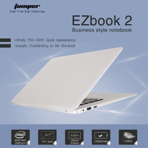 JUMPER 14,1 Zoll Ezbook 2 Windows 10 Notebook 1920 X 1080 FHD 4 GB + 64 GB Laptop-Computer