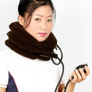 Inflatable Cervical Vertebra Neck Traction for Head Back Shoulder Neck Pain