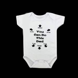 Summer Baby Unisex Casual Short Sleeves Letters Arrow Printing Triangle Romper