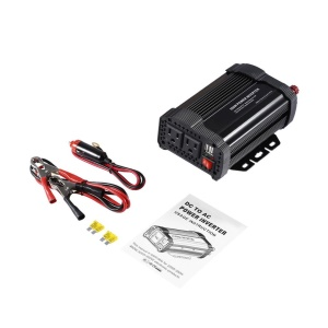 P-Series Car Power Inverter DC12V to AC110V Modified Charger Power Converter - 800W