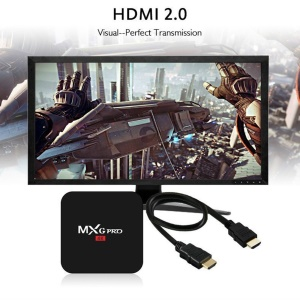MXG-PRO TV Box Android 6.0 HD TV Box WIFI 4K Smart Set Top Box Mediaplayer 2G + 16G