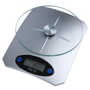 Digital Kitchen Scale Glass Top Food Diet Scale Home
