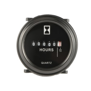 "2"" Hour Meter for Cart Marine Boat Tractor Generator Engine 6-80V"