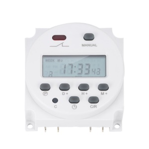 New LCD Digital Power Programmable Timer 16A Time Relay Switch