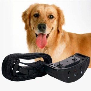 Anti Bark Control Collar Auto Vibration Shock for Training Dog Stop Barking