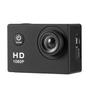 SJ4000(X2H) 2.0 inch HD 1080P 12MP Sports Car DV Video Action Camera - Black