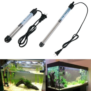 Mini Aquarium Submersible Heater Fish Tank Adjustable Water Heater - 300W / US Plug