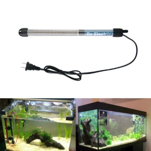 Mini Submersible Aquarium Heater Adjustable Fish Tank Water Heater - 100W / US Plug