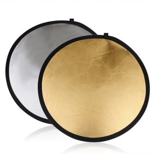 60cm 5 in 1 Round Photography Studio Light Reflector Collapsible Disc Reflector Set