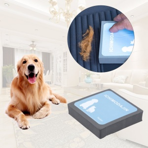 Pet Sticky Hair Fur Clean Hair Removal Device Carpet Sofa Brush Grooming Tool