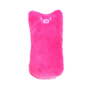 Interactive Pets Teeth Grinding Catnip Toys Fancy Claws Thumb Bite Toy - Rose